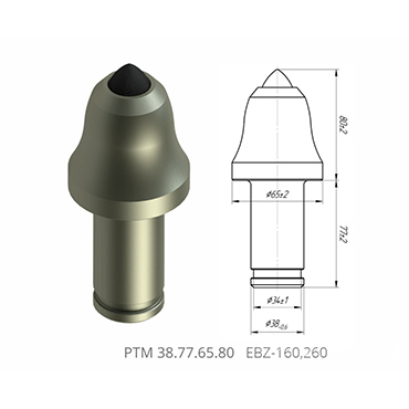 截齿PTM 38.77.65.80