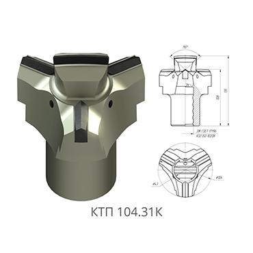 采煤机截齿KTP 104.31K