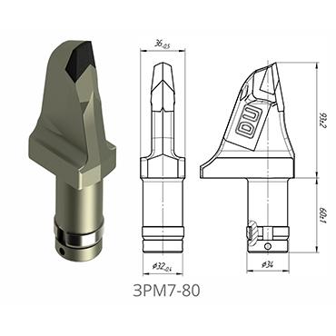 截齿 3PM7-80